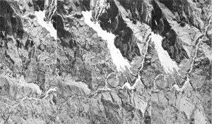 Figura 3. Texturas, Tonos y Drenajes en Fotografias Aereas